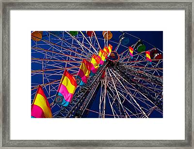 Under The Wheel Framed Print