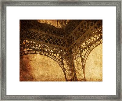 Under Tower Framed Print by Andrew Paranavitana