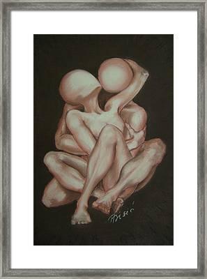 Under Your Wing Forever Framed Print by Meliha Bisic