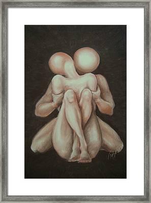 Under Your Wing-surrender Framed Print by Meliha Bisic