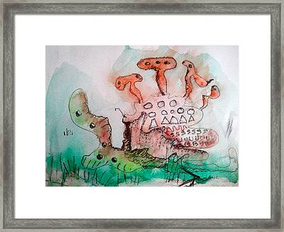 Under Ze Sea Framed Print