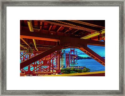 Underbelly Framed Print