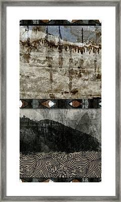 Undercurrents Framed Print