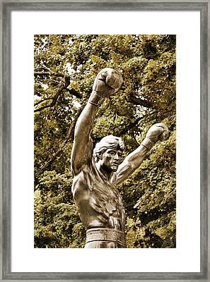 Underdog Triumph Framed Print by JAMART Photography