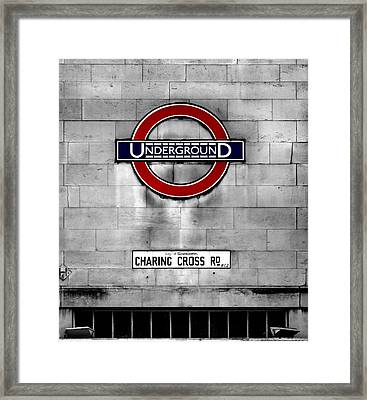 Underground Framed Print by Mark Rogan