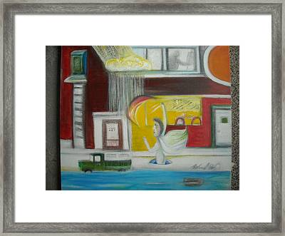 Underground Muse Framed Print by Ward Smith