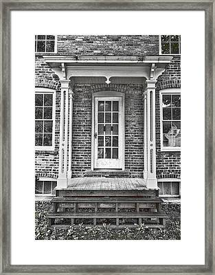 Underground Railroad - Tubman House Framed Print
