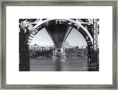 Underneath The George Washington Bridge IIi Framed Print