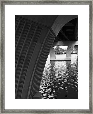 Underneath Yet Above Framed Print by James Granberry