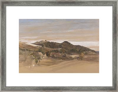 Underriver Hills, Near Sevenoaks, Kent Framed Print by Samuel Palmer