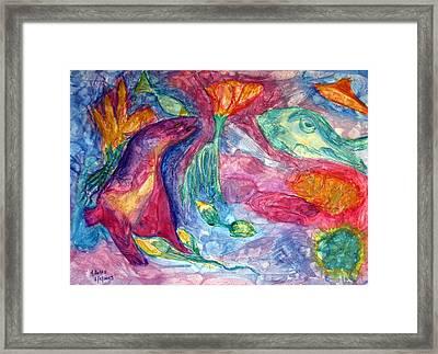 Undersea Fantasy Framed Print