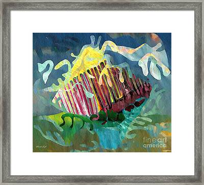 Undersea Still Life Framed Print by Sarah Loft