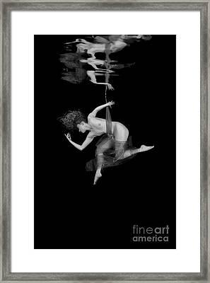 Underwater Beauty 003 Framed Print