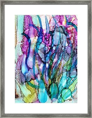 Underwater Framed Print by Christine Crawford