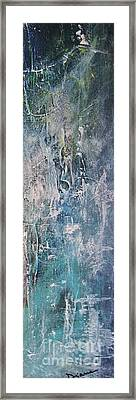 Framed Print featuring the painting Underwater by Diana Bursztein