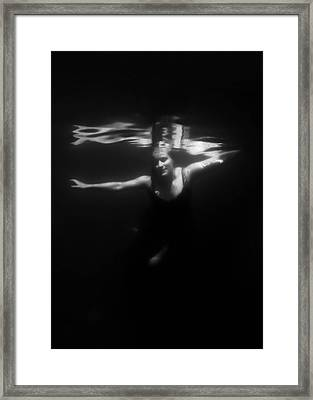 Underwater Dreaming Framed Print by Nicklas Gustafsson