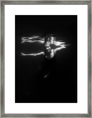 Underwater Dreaming Framed Print