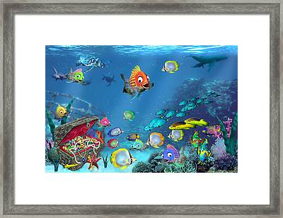 Underwater Fantasy Framed Print by Doug Kreuger