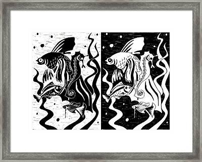 Underwater Fish Framed Print by Svetlana Sewell