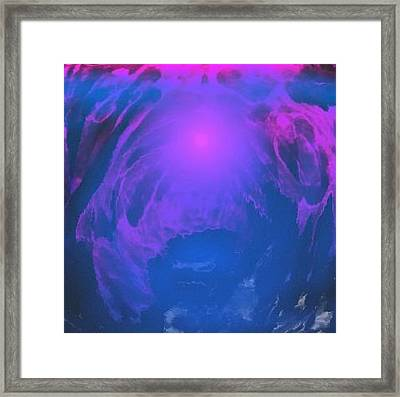 Framed Print featuring the digital art Underwater Kingdom by Dr Loifer Vladimir