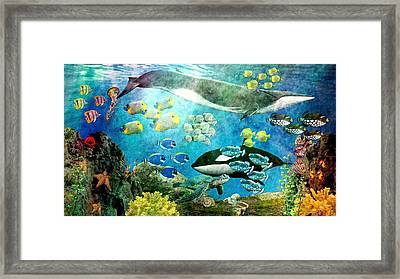 Underwater Magic Framed Print