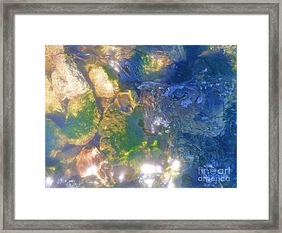 Underwater Magic Framed Print