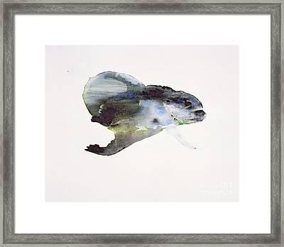 Underwater Framed Print by Mark Adlington