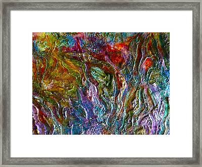Underwater Seascape Framed Print