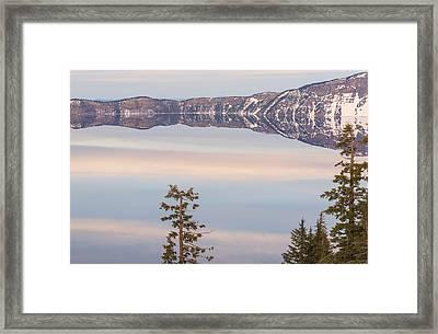Underwater Sky Framed Print