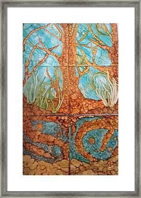 Underwater Trees Framed Print