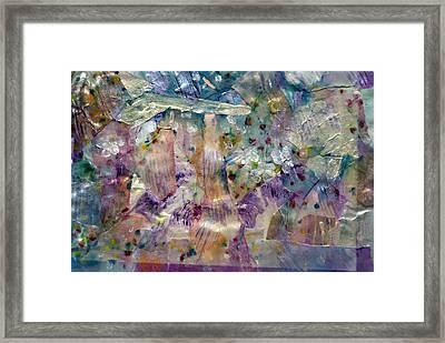 Underwater Wildflowers Framed Print