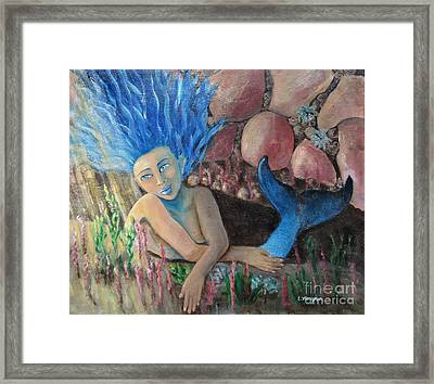 Underwater Wondering Framed Print