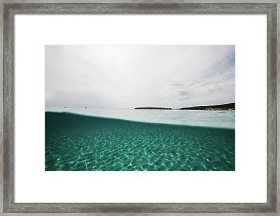 Underwaterline Framed Print