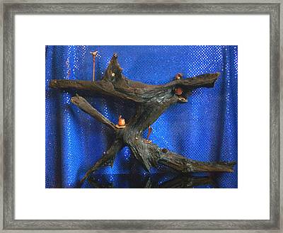 Framed Print featuring the photograph Underworld by Carolyn Cable