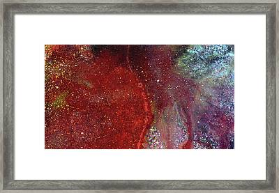 Undisturbed - Colorful Contemporary Abstract Painting Framed Print by Modern Art Prints