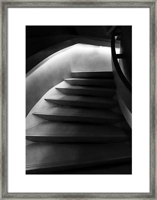 Undulating  Framed Print