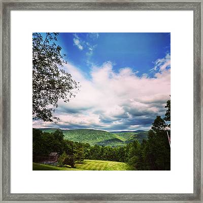 Unending Ask  Framed Print