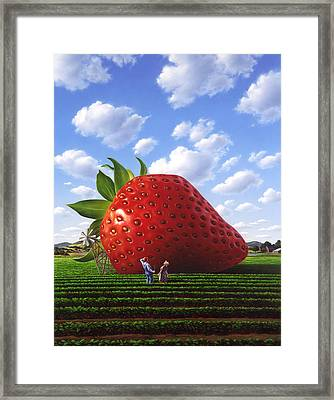 Unexpected Growth Framed Print