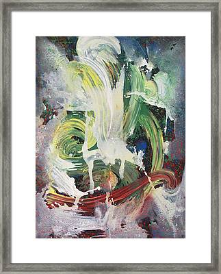 Unexpected Move Framed Print by Vonitya Anand