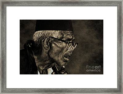 Unexpected Truth Framed Print by Manjot Singh Sachdeva