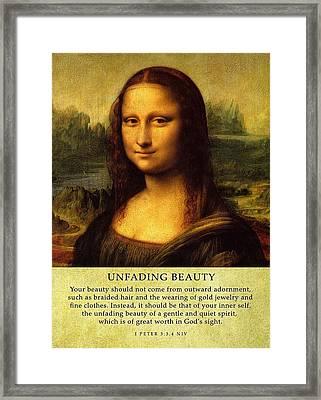 Unfadingbeauty  Framed Print by Roman Dela Rosa