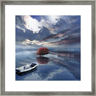 Unfathomable Framed Print by Lourry Legarde
