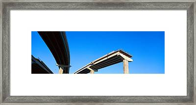Unfinished Freeway Ramp Framed Print by Panoramic Images