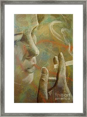 Unfold Framed Print