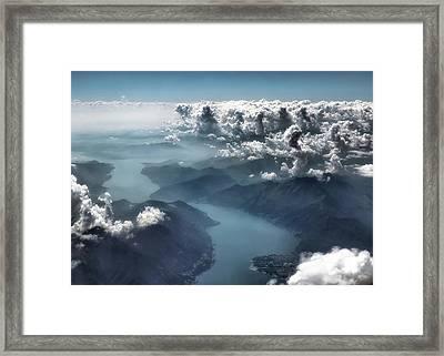 Unfolding Framed Print