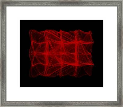 Unfolds Imperfect  I Framed Print