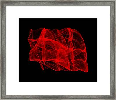 Unfolds Imperfect II Framed Print