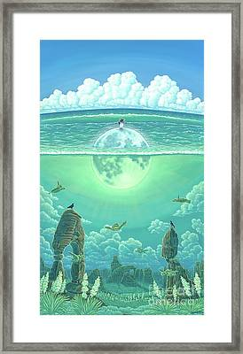 Unforeseeable Future Framed Print