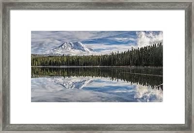 Unforgettable Day At Takhlakh Lake Framed Print