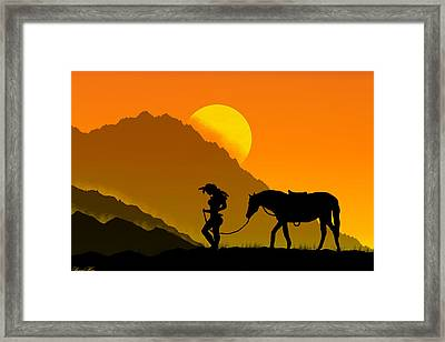 Unforgiven Framed Print